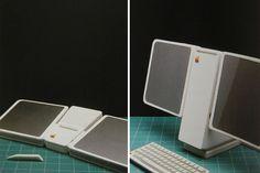 Apple flat screen workstation 1982