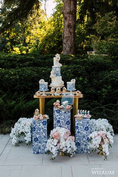 WedLuxe– The Art of Azulejo | Photography By: Purple Tree Photography Follow @WedLuxe for more wedding inspiration!