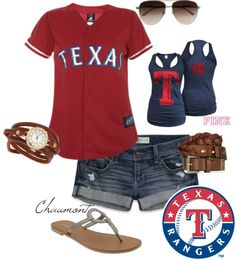 """Rangers Game!"" by chaumont ❤ liked on Polyvore"