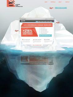 Unique Web Design, Landing Page Optimization #WebDesign #Design