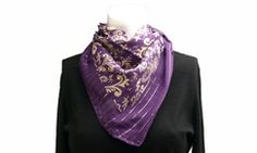 I love scarves!!! This is a great website with over 30 ways to tie one! Makes a scarf perfect for nearly every occasion!