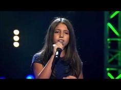 Dioniza zingt 'Listen' | Blind Audition | The Voice Kids | VTM - YouTube