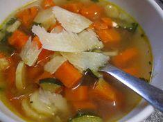 Olasz zöldségleves   Scriptum receptje - Cookpad receptek Thai Red Curry, Soup, Mexican, Ethnic Recipes, Soups, Mexicans