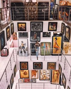 at Nike art gallery in Lagos, Nigeria Art Museum, Metal Working, Gallery Wall, Carving, Room Decor, African, Shapes, Photo And Video, Nike