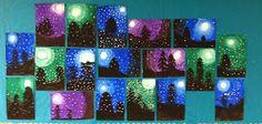 Wahoo for Art!: Winter Evergreens