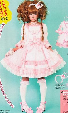 I LOVE Lolita fashion, I hope this comes as a treat to everyone who lives and loves Lolita Fashion as well.