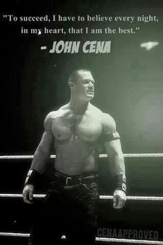 Yes. Wwe Quotes, Wrestling Quotes, Golf Quotes, Wrestling Divas, Music Quotes, John Cena Quotes, Wwe Champions, Wrestling Superstars, Workout Memes