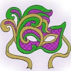 3 Bells Embroidery-Mardi Gras 2009 Singles | OregonPatchWorks