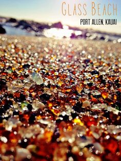 One of our favorite things to do when we are in Kauai More glass beach port alley, kauai Kauai Vacation, Hawaii Honeymoon, Aloha Hawaii, Hawaii Life, Hawaii 2017, Tropical Vacations, Vacation Places, Italy Vacation, Vacation Spots