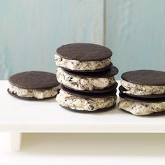 Ice cream sandwiches go mini with these sweet little treats. They'll be a hit at your next summer gathering!
