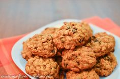 Pumpkin Oatmeal Cookies - delicious fall cookie recipe