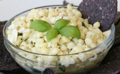 Sweet Corn and Feta Dip