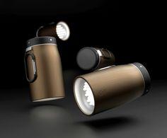 LED Flashlight for Art Of Kinetik by Hoyss , via Behance