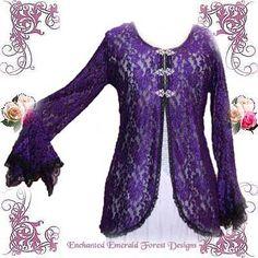 Lace Gypsy Wedding Jacket