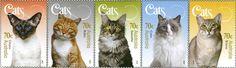 Briefmarke der Woche: Miez, Miez, Miez… http://briefmarkenspiegel.com/web/2015/05/18/katzen-auf-australischen-briefmarken/
