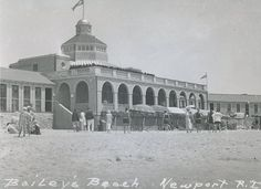 """""""Bailey's Beach, Newport, RI"""". The preferred location to """"summer"""" for the members of NYC's Gilded Age Society, located in Newport, RI. Bailey's Beach was frequented by high society members, in an attempt to escape the warm summer weather of NYC, while staying at their, """"cottages"""" - residential mansions in Newport. ~ {cwlyons} ~ (Image: Newport Discovery Guide)."""