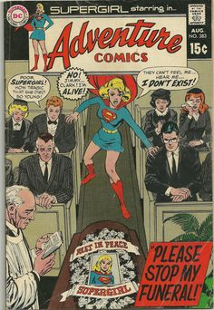 Supergirl Adventure Comics 383 DC Comic-1969 by trufflepig1