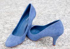 Gebrauchte Damenschuhe in blau