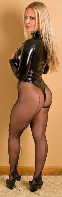One day stockings or pantyhose which is sexier ass her
