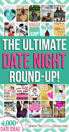A giant round-up of all the best date idea round-ups.  There's seriously thousands of ideas on here.