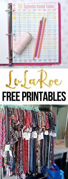 Free printables for LuLaRoe consultants to use. Manage your income and expenses, print LuLaCash and raffle tickets.