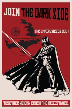 Join to the dark side! THE EMPIRE NEEDS YOU