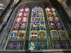 The Collegiate Church of Notre-Dame Such beautiful stained glass. The Places Youll Go, Great Places, Places To See, Places Ive Been, Beautiful Places, I Want To Travel, Beautiful Architecture, Notre Dame, Places To Travel