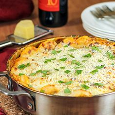 30 Minute Ravioli and Sausage Skillet - tastes like fine Italian restaurant meal in one skillet and half and hour!