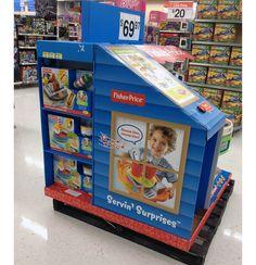 Fisher-Price Pallet Display Lets Kids Pretend