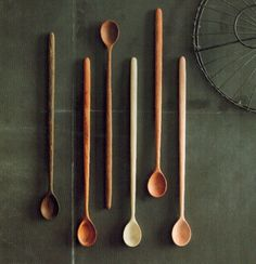 These exotic wood tasting spoons make a great gift for the aspiring chef in your life.