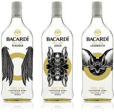 Bacardi Social Circle rum packaging