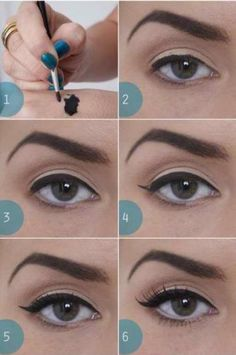 Eyeliner How-To #makeup