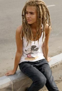 i bet you love these dreads. ohjeezjaelynn i bet you love these dreads. i bet you love these dreads. Blonde Dreads, Dreads Girl, Rasta Girl, Rasta Man, Dreadlock Hairstyles, Cool Hairstyles, Beautiful Dreadlocks, Dreads Styles, Natural Hair Styles