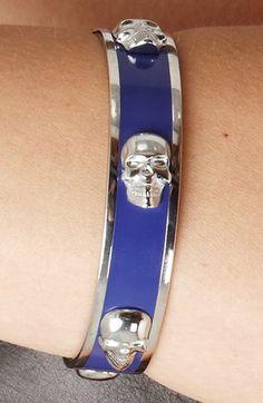 3D skull bracelet
