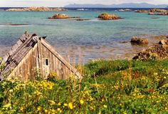 verfallende Holzhütte am Meer, Foto: S. Kretschmer