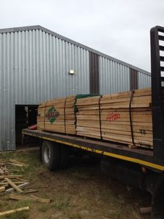 A load of timber is delivered to the Homewood factory in Lidgetton West on the Midlands Meander. Within weeks they will have converted this to crafted luxury furniture- will it be for you? See more: www.midlandsmeander.co.za