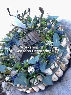 Art Floral, Deco Floral, Floral Design, Flower Shower, Rustic Wedding Flowers, Wreath Crafts, Flower Decorations, Dried Flowers, Holiday Crafts