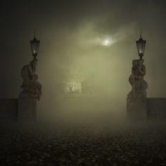 dark foggy night | Found on circusofsplendor.tumblr.com