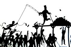 SOCIAL ISSUE SILHOUETTES I decided I wanted to try something new to begin the year with my advanced classes. I had been looking at the work of Kara Walker a lot this summer, and she served as the inspiration for these silh… Kara Walker, Walker Art, Silhouette Images, Silhouette Projects, Activist Art, Social Activist, Shadow Images, Art Curriculum, Painter Artist