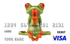 So your love of all things cute with a custom prepaid Visa #Visa #prepaid