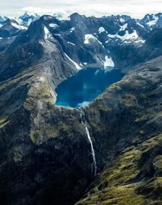 Fiordland National Park in Te Anau, New Zealand