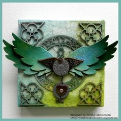 Tattered Angels, Viva Decor Crackling Croco & Delta Texture Magic…WOW! | Tattered Angels