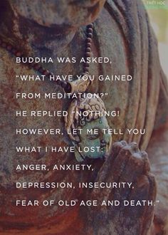 Buddha meditation quote: love this for a peaceful area of the house - maybe a book nook?