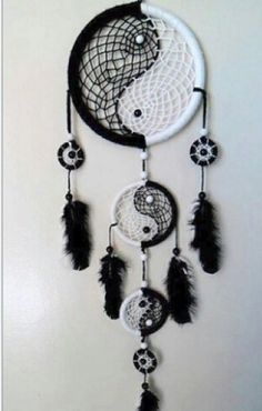 Dream Catcher Black/White