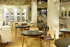 iluminacion restaurante hoja santa barcelona