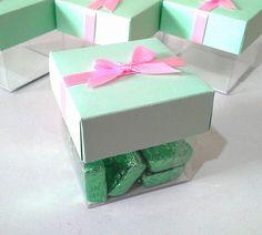 Cubos para chocolates