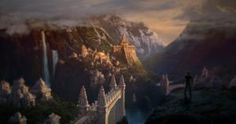Shambala is concept art for the game Uncharted Among Thieves and has been made by concept artist Robh Ruppel. This limited edition print is part of the Environment Concept Art, Environment Design, Land Of The Lost, Hollow Earth, Fantasy Setting, Fantasy Landscape, Landscape Art, Ancient Civilizations, Terra