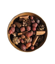 My Fragrant Home - Rosehip Potpourri, 8.00 (http://myfragranthome.com/rosehip-potpourri/)  Scented rosehip potpourri is ideal to place around a pillar candle or display in your favorite bowl. Scented with four of our most popular fragrances; Butternut Pumpkin, Oranges & Evergreens, Sleigh Ride, Warm 'n Cozy. The fragrance will last for months and can be easily rejuvenated with our refresher oils.