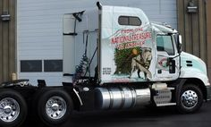Mack Trucks will be using a specially decorated truck to haul the Capitol Christmas tree from Colorado to Washington D.C. this holiday season.