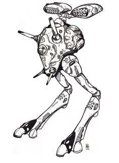 Macross / Robotech tactical battle pod